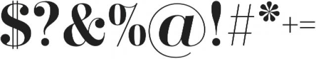 Didonesque Lite Medium otf (500) Font OTHER CHARS