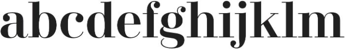 Didonesque Lite Medium otf (500) Font LOWERCASE