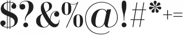 Didonesque Lite Roman otf (400) Font OTHER CHARS