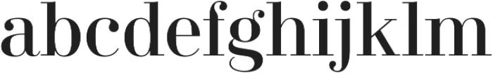 Didonesque Lite Roman otf (400) Font LOWERCASE