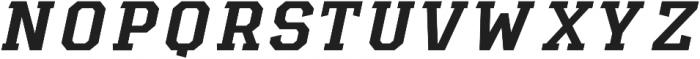 Diesel Italic otf (400) Font UPPERCASE