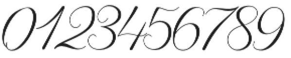Diffrenlight Regular otf (300) Font OTHER CHARS