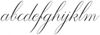 Diffrenlight Regular otf (300) Font LOWERCASE