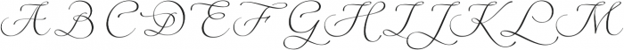 Digatte Quill otf (400) Font UPPERCASE