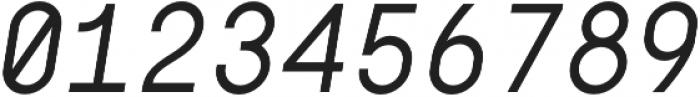 Digerati Regular Italic otf (400) Font OTHER CHARS