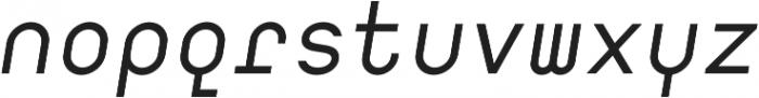 Digerati Regular Italic otf (400) Font LOWERCASE