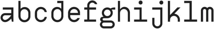 Digerati otf (400) Font LOWERCASE