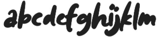 Diggies otf (400) Font LOWERCASE