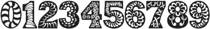 Digidon otf (400) Font OTHER CHARS