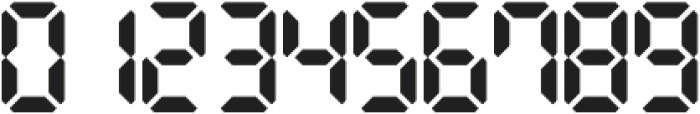 Digital Dismay otf (400) Font OTHER CHARS