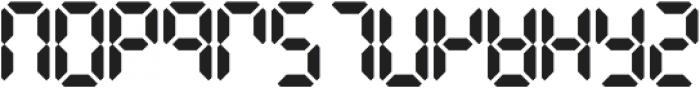 Digital Dismay otf (400) Font LOWERCASE