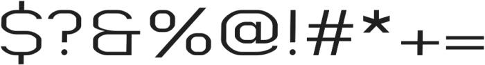 Digital regular otf (400) Font OTHER CHARS