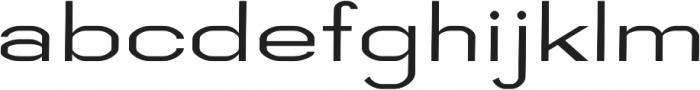 Digital regular otf (400) Font LOWERCASE