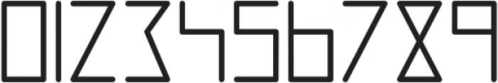 Digitalium ttf (700) Font OTHER CHARS