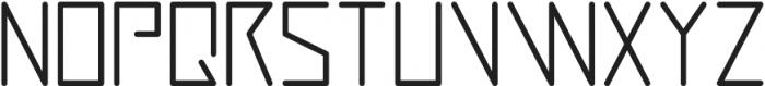 Digitalium ttf (700) Font UPPERCASE