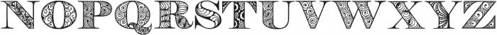 Digizen otf (400) Font UPPERCASE