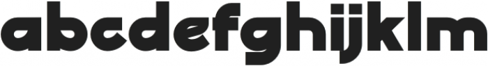 Digofa Bold otf (700) Font LOWERCASE