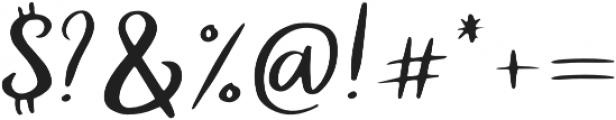 Dilation otf (400) Font OTHER CHARS