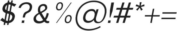 Dilly-Slab Regular-italic otf (400) Font OTHER CHARS
