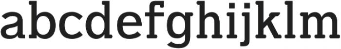 Dilly-Slab Semi-bold otf (600) Font LOWERCASE