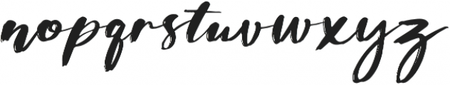 Dinasty otf (400) Font LOWERCASE