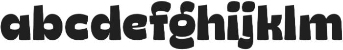 Ding Heavy otf (800) Font LOWERCASE
