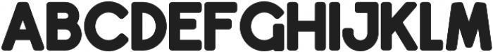 Dingle Fat Font otf (800) Font UPPERCASE
