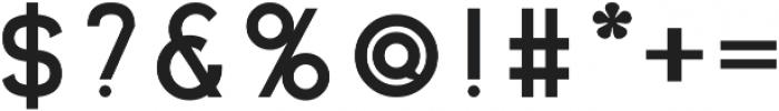 Dingo Bold otf (700) Font OTHER CHARS