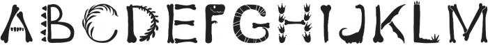 DinoFont2 Regular otf (400) Font LOWERCASE