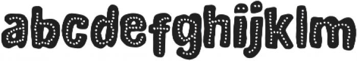 DinoTypeDots otf (400) Font LOWERCASE