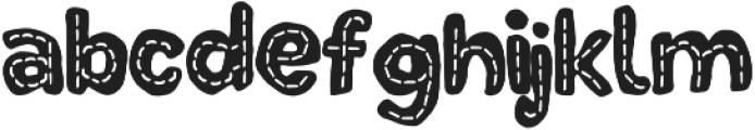 DinoTypeLine otf (400) Font LOWERCASE
