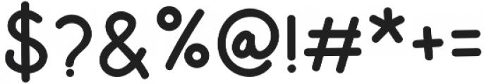Dinomik Semibold otf (600) Font OTHER CHARS