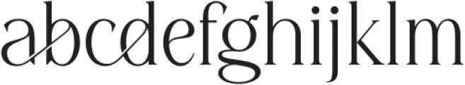 Diranista Regular otf (400) Font LOWERCASE