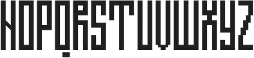 Direct step 0.1 ttf (400) Font UPPERCASE