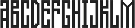 Direct step 0.1 ttf (400) Font LOWERCASE