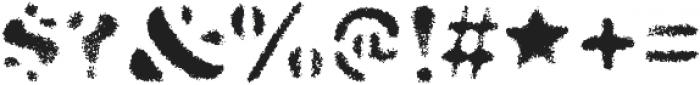 Dirty Baker's Dozen Spraypaint otf (400) Font OTHER CHARS
