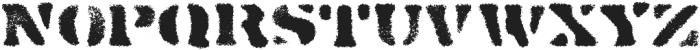 Dirty Baker's Dozen Spraypaint otf (400) Font UPPERCASE
