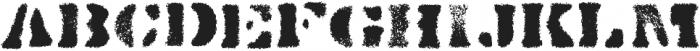 Dirty Baker's Dozen Spraypaint otf (400) Font LOWERCASE
