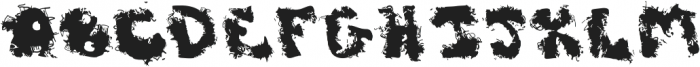 Dirty Joe ttf (400) Font UPPERCASE