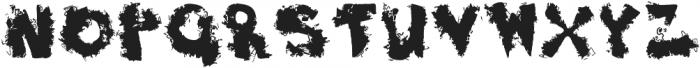 Dirty Joe ttf (400) Font LOWERCASE