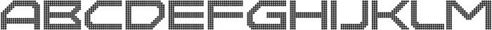 Disassembler Circle otf (400) Font UPPERCASE