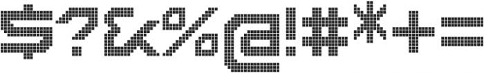 Disassembler Lattice otf (400) Font OTHER CHARS