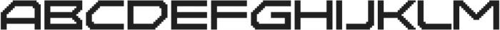 Disassembler Regular otf (400) Font UPPERCASE