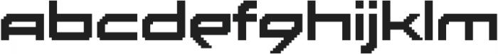 Disassembler Regular otf (400) Font LOWERCASE