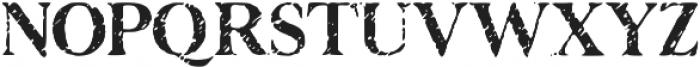 Disjunct otf (400) Font UPPERCASE