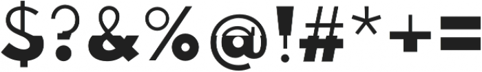 Disoluta Regular otf (400) Font OTHER CHARS