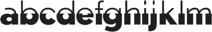 Disoluta Regular otf (400) Font LOWERCASE