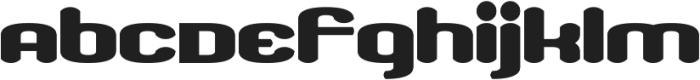 Dissolved Exchange otf (400) Font LOWERCASE
