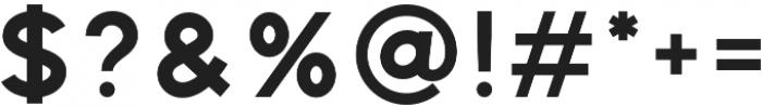 Distinct Style Sans Bold Regular otf (700) Font OTHER CHARS