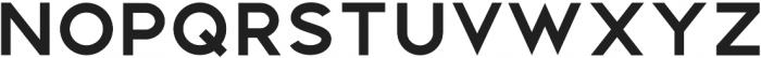 Distinct Style Sans Bold Regular otf (700) Font LOWERCASE